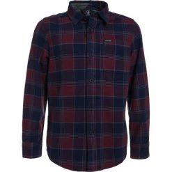 Volcom CADEN  Koszula crimson. Niebieskie koszule chłopięce Volcom, z bawełny. Za 219,00 zł.