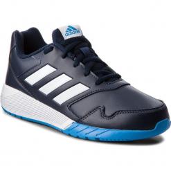 Buty adidas - AltaRun K BB9329 Conavy/Ftwwht/Brblue. Czarne buty do biegania damskie marki Adidas, z kauczuku. W wyprzedaży za 139,00 zł.