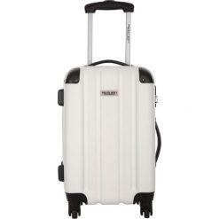 Walizka w kolorze białym - 29 l. Białe walizki marki Travel One, z materiału. W wyprzedaży za 179,95 zł.