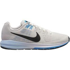 Nike Buty Do Biegania Damskie Air Zoom Structure 21 Running Shoe, 38,5. Szare buty do biegania damskie Nike, z materiału. Za 539,00 zł.