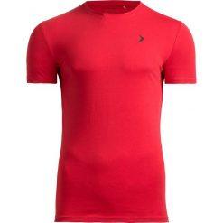 T-shirt męski TSM601 - czerwony - Outhorn. Czerwone t-shirty męskie Outhorn, na lato, m, z bawełny. W wyprzedaży za 29,99 zł.