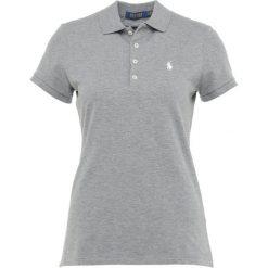 Polo Ralph Lauren Golf STRETCH VISDRY Koszulka polo steel heather. Szare bluzki sportowe damskie Polo Ralph Lauren Golf, l, z bawełny, z golfem. Za 379,00 zł.