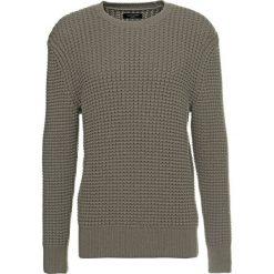 Kardigany męskie: AllSaints KEE CREW Sweter olive green