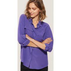 Koszula - Fioletowy. Szare koszule damskie marki House, l, z dzianiny. Za 59,99 zł.