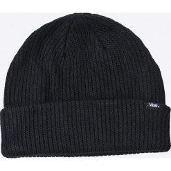 Vans - Czapka. Czarne czapki zimowe męskie marki Vans, z dzianiny. W wyprzedaży za 59,90 zł.