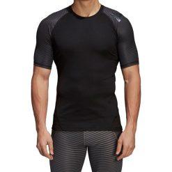 Koszulka termoaktywna męska ADIDAS TECHFIT ALPHASKIN GRAPHIC TEE / CF7243. Czarne odzież termoaktywna męska Adidas, m. Za 129,00 zł.