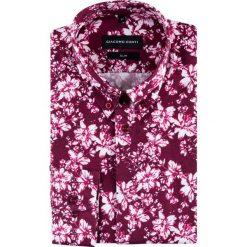 Koszula SIMONE KDWS000430. Fioletowe koszule męskie na spinki marki Reserved, l, z bawełny. Za 199,00 zł.