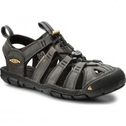 Sandały KEEN - Clearwater Cnx Leather 1013107 Magnet/Black. Szare sandały męskie skórzane Keen. W wyprzedaży za 299,00 zł.