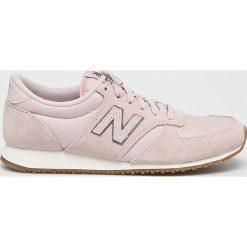 New Balance - Buty WL420PGP. Szare buty sportowe damskie New Balance. W wyprzedaży za 299,90 zł.