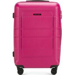 Walizka średnia 56-3H-542-60. Czerwone walizki marki Wittchen, z gumy, średnie. Za 179,00 zł.