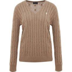 Swetry damskie: Polo Ralph Lauren CLASSIC Sweter truffle heather