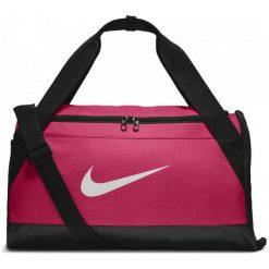 Nike Torba Sportowa Brasilia (Small) Pink Black White. Białe torby podróżne Nike, duże. W wyprzedaży za 99,00 zł.