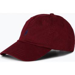 Polo Ralph Lauren - Męska czapka z daszkiem, czerwony. Czerwone czapki z daszkiem męskie marki Polo Ralph Lauren, z haftami. Za 139,95 zł.
