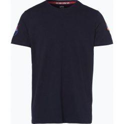 T-shirty męskie: Alpha Industries – T-shirt męski, niebieski