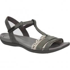 SANDAŁY CLARKS TEALITE GRACE 26123897. Czarne sandały damskie marki Clarks, z materiału. Za 189,99 zł.