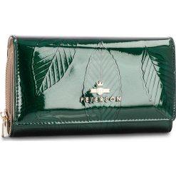 Portfele damskie: Duży Portfel Damski PETERSON – 601-07-05-35 Green Leaf