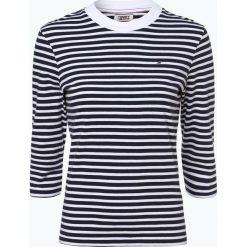 Tommy Jeans - T-shirt damski, czarny. Szare t-shirty damskie marki Tommy Jeans, l, z dzianiny, z podwyższonym stanem, dopasowane. Za 229,95 zł.