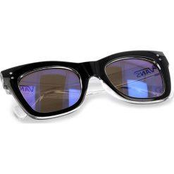 Okulary przeciwsłoneczne damskie aviatory: Okulary przeciwsłoneczne VANS – Sunny Dazy Sung VN0A3AJ3BCQ Black/Clear