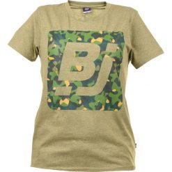 T-shirty chłopięce: BEJO Koszulka dziecięca LOGO BJ JR khaki r. 146