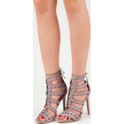 Wiązane sandały na szpilce SIRENA. Różowe sandały damskie marki SEASTAR, na szpilce. Za 109,00 zł.