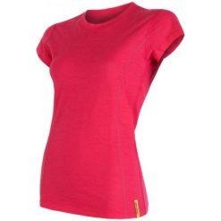 Sensor Koszulka Termoaktywna Merino Wool Active W Magenta Xl. Czerwone bluzki sportowe damskie marki Sensor, xl, z materiału. Za 195,00 zł.