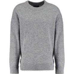 AllSaints LOFTEN CREW Sweter grey marl. Szare kardigany męskie AllSaints, m, z materiału. W wyprzedaży za 486,75 zł.