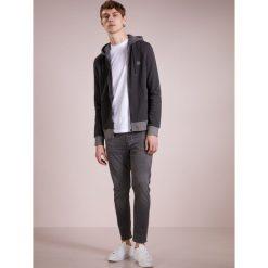 BOSS CASUAL ZEROES Bluza rozpinana mottled grey. Szare kardigany męskie BOSS Casual, m, z bawełny, casualowe. W wyprzedaży za 425,40 zł.