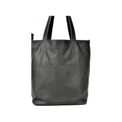 Duża skórzana torba Hobo. Szare torby na laptopa Pracownia6-9, ze skóry. Za 225,00 zł.