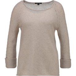 Swetry klasyczne damskie: comma Sweter ecru melange