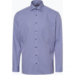 Eterna Modern Fit - Koszula męska – niewymagająca prasowania, niebieski. Niebieskie koszule męskie non-iron marki Eterna Modern Fit, m, w kratkę. Za 149,95 zł.