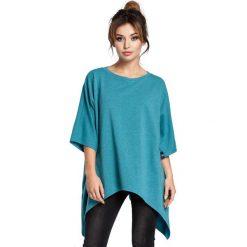 JULIE Bluza tunika kimono - szmaragdowa. Zielone bluzy rozpinane damskie BE, l. Za 139,99 zł.