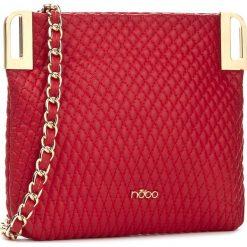 Torebka NOBO - NBAG-D3260-C005 Czerwony. Czerwone torebki klasyczne damskie Nobo, ze skóry ekologicznej, duże. W wyprzedaży za 89,00 zł.