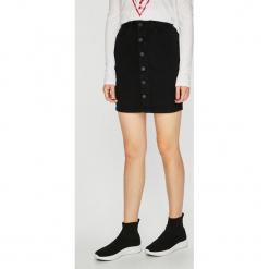 Noisy May - Spódnica Lucy. Szare minispódniczki marki Noisy May, l, z bawełny, ołówkowe. Za 119,90 zł.