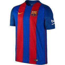 Nike Koszulka męska FCB M SS HM Stadium JSM niebieska r. XL (776850 481). Białe koszulki sportowe męskie marki Adidas, l, z jersey, do piłki nożnej. Za 282,07 zł.
