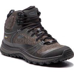 Trekkingi KEEN - Terradora Mid Wp 1019874 Raven/Gargoyle. Szare buty trekkingowe damskie Keen. W wyprzedaży za 359,00 zł.