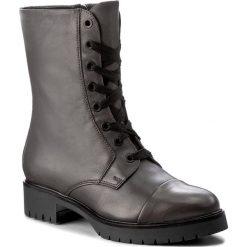 Botki GINO ROSSI - Donata DTH488-R78-0152-8500-F 90. Szare buty zimowe damskie marki Gino Rossi, ze skóry, na obcasie. W wyprzedaży za 299,00 zł.