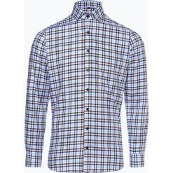 Finshley & Harding - Koszula męska, niebieski. Czarne koszule męskie na spinki marki Finshley & Harding, w kratkę. Za 129,95 zł.
