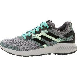 Buty damskie: adidas Performance AEROBOUNCE  Obuwie do biegania treningowe black/green/grey