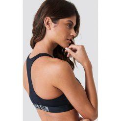 Calvin Klein Góra bikini Zip Bralette-RP - Black. Czarne bikini Calvin Klein. Za 242,95 zł.