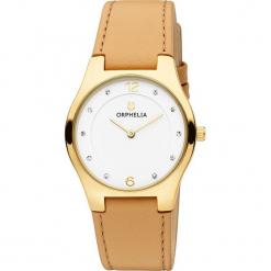Zegarek kwarcowy w kolorze beżowo-biało-złotym. Brązowe, analogowe zegarki damskie Esprit Watches, metalowe. W wyprzedaży za 136,95 zł.