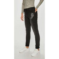 Morgan - Jeansy Gris Moyen. Szare jeansy damskie marki Morgan, z bawełny. W wyprzedaży za 269,90 zł.