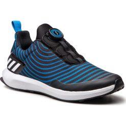 Buty adidas - RapidaRun Uncaged Boa K AH2614 Cblack/Ftwwht/Brblue. Czarne buty do biegania damskie Adidas, z materiału. Za 279,00 zł.