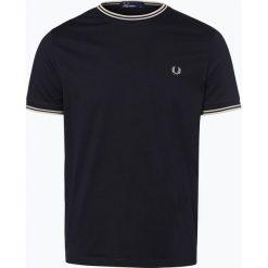 T-shirty męskie: Fred Perry – T-shirt męski, niebieski