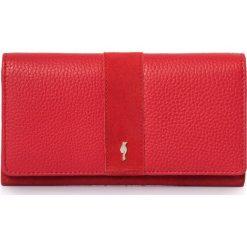 Portfel damski. Czerwone portfele damskie Ochnik, ze skóry, duże. Za 149,90 zł.