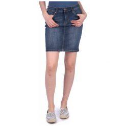 Mustang Spódnica Damska Laura 31 Niebieski. Niebieskie spódniczki marki Mustang, z aplikacjami, z bawełny. W wyprzedaży za 169,00 zł.