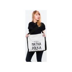 Torba, Torebka przez ramię Boska matka polka. Brązowe torebki klasyczne damskie Tailormade24, z bawełny. Za 49,00 zł.