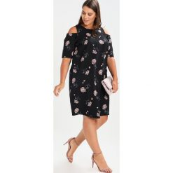 Sukienki hiszpanki: Dorothy Perkins Curve DITSY FLORAL Sukienka letnia black