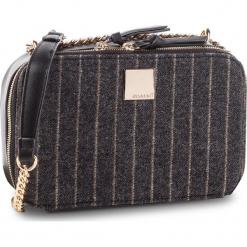 Torebka MONNARI - BAG3810-020 Black. Brązowe torebki klasyczne damskie marki Monnari, w paski, z materiału, średnie. W wyprzedaży za 159,00 zł.