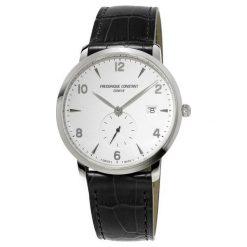 ZEGAREK FREDERIQUE CONSTANT Slimline Gents FC-245SA5S6. Białe zegarki męskie FREDERIC CONSTANT, ze stali. Za 2999,00 zł.