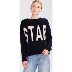 Swetry klasyczne damskie: Rich & Royal Sweter deep blue